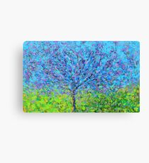 pink and purple tree Canvas Print