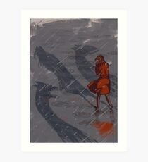 On you will go.  Art Print