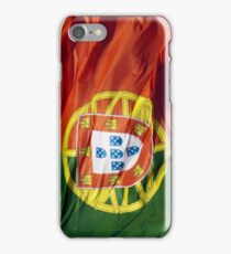 Waving Flag of Portugal From 2014 Winter Olympics iPhone Case/Skin