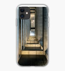 Huge stone and concrete space iPhone Case