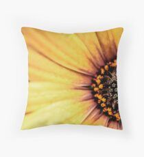 WHEN THE FLOWER BLOSSOMS, THE BEE WILL COME. Throw Pillow