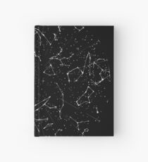 Constellation Star Map of the Northern Hemisphere Hardcover Journal