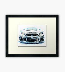Ice Cold Evo Framed Print