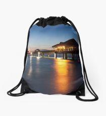Clearwater Pier Drawstring Bag