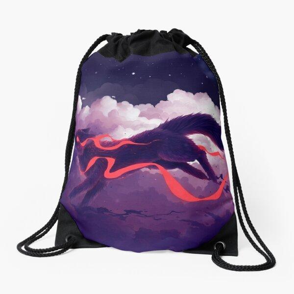 The cloud jumper Drawstring Bag