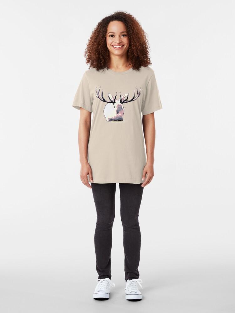Alternate view of My Imaginary Friend Slim Fit T-Shirt