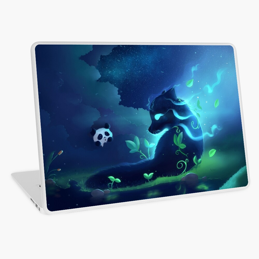 Forest spirit Laptop Skin