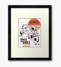The Legendary Led Zeppelin Framed Print