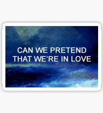 Halsey lyrics Sticker