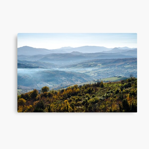 Hills of Italy - Guardiagrele Canvas Print