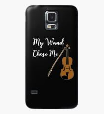 My Wand Chose Me Violin or Viola Fun Music  Case/Skin for Samsung Galaxy