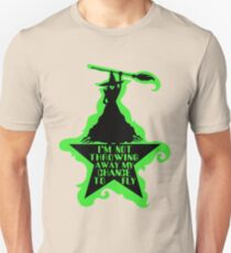 Hamilton Musical Crossover. Wicked Musical Parody. T-Shirt