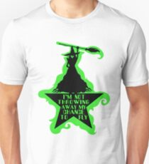 Hamilton Musical Crossover. Wicked Musical Parody. Unisex T-Shirt