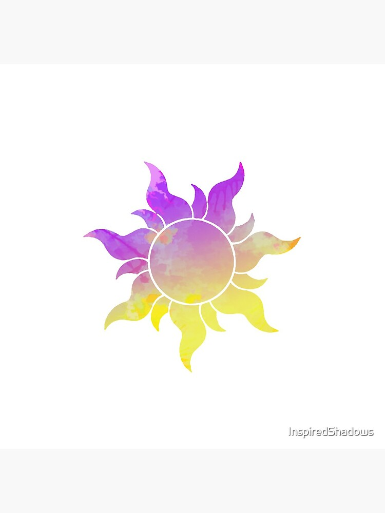 Tangled Sun inspired silhouette by InspiredShadows