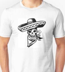 sombrero skull T-Shirt