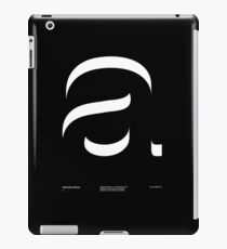 a .... Helvetica Neue V2 iPad Case/Skin