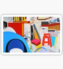 Abstract Interior #13 Sticker