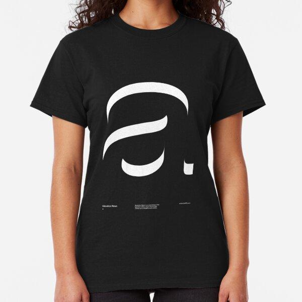 a .... Helvetica Neue V2 Classic T-Shirt
