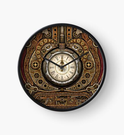 Steampunk Vintage Time Machine Clock