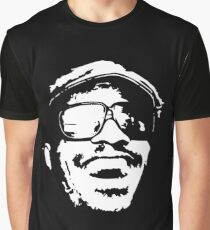 stencil Stevie Wonder Graphic T-Shirt