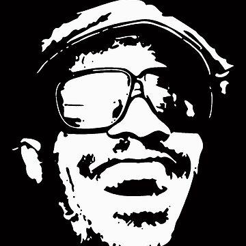 stencil Stevie Wonder by Jack64427