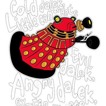 Hard Dalek Mens Funny by Jack64427