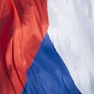 Waving Flag of the Czech Republic From 2014 Winter Olympics by pjwuebker
