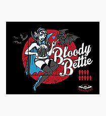 Bloody Bettie Photographic Print