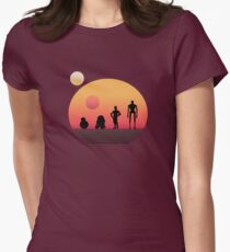 Star Wars Droids Women's Fitted T-Shirt