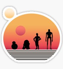 Star Wars Droids Sticker