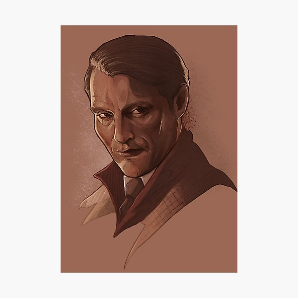 Hannibal Lecter Photographic Print