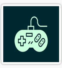 SNES controller  Sticker