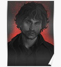 Will Graham, greyscale Poster