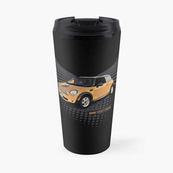 RIP MINI Cooper Illustration Travel Mug