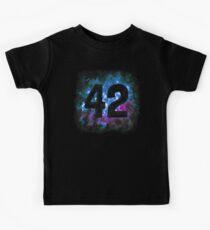 42 in Space Kids Tee