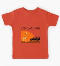 On Safari - Defender 110 Kids Tee