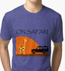 On Safari - Defender 110 Tri-blend T-Shirt