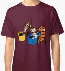 Doctor Who and Hobbes Classic T-Shirt