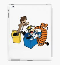 Doctor Who and Hobbes iPad Case/Skin