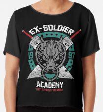 Ex-Soldaten-Akademie Chiffontop