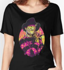 Neon Horror: Freddy  Women's Relaxed Fit T-Shirt