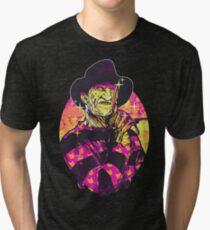 Neon Horror: Freddy  Tri-blend T-Shirt