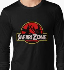 Jurassic Park - Safari Zone Long Sleeve T-Shirt