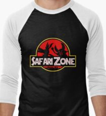 Jurassic Park - Safari Zone Men's Baseball ¾ T-Shirt