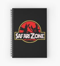 Jurassic Park - Safari Zone Spiral Notebook