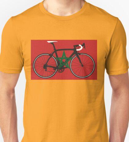 Bike Flag Morocco (Big - Highlight) T-Shirt