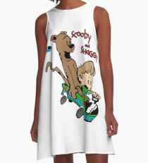 Scooby and Hobbes A-Line Dress
