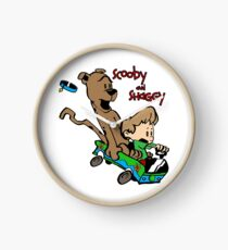 Scooby and Hobbes Clock