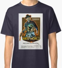 """Westworld Classic Movie Poster """"73"""" Classic T-Shirt"""