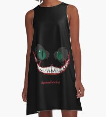 cheshire cat, why so serious? A-Line Dress